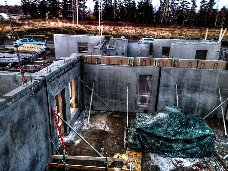 Muotteja betonitöihin